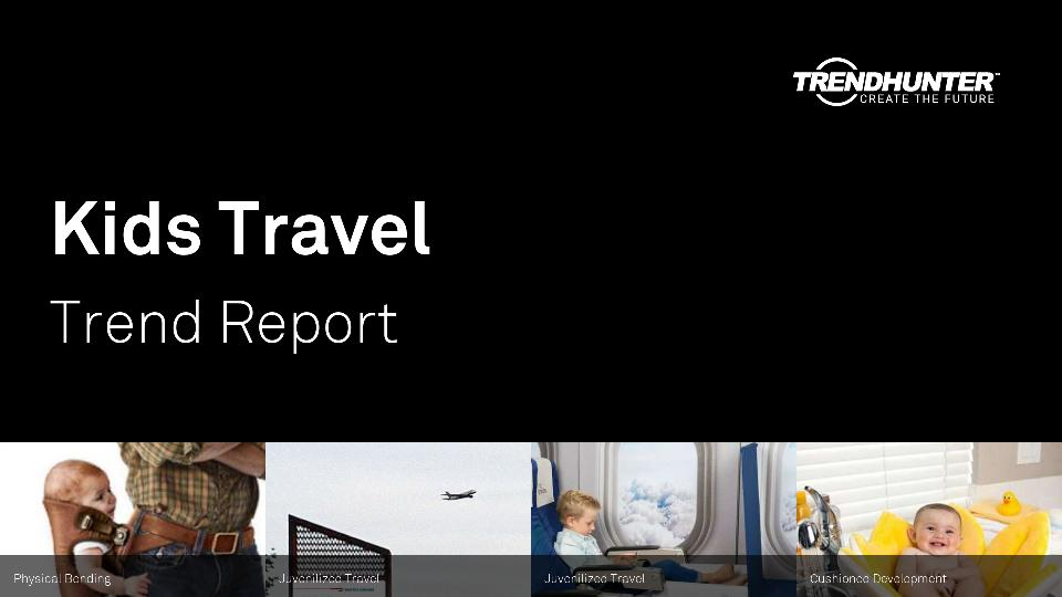 Kids Travel Trend Report Research