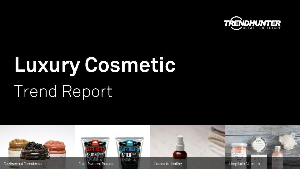 Luxury Cosmetic Trend Report Research