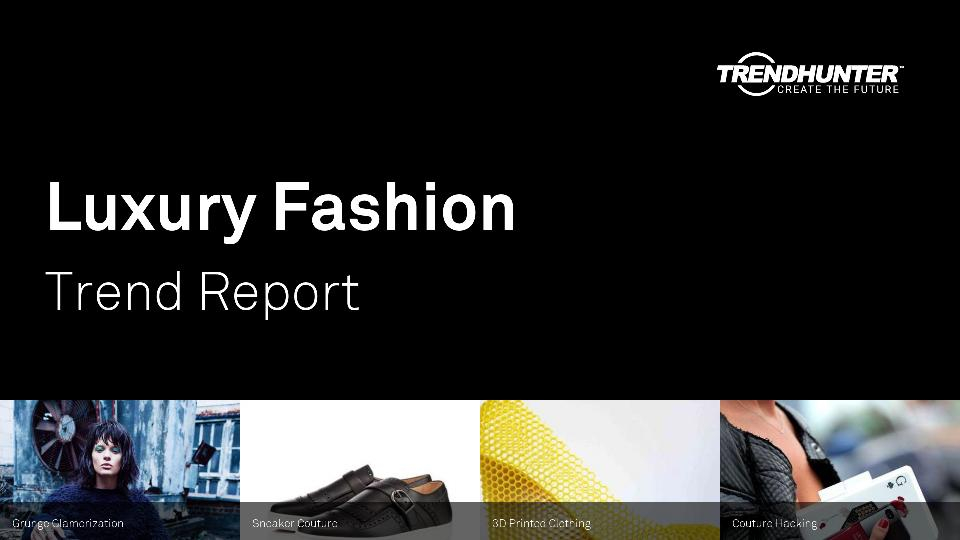 Luxury Fashion Trend Report Research