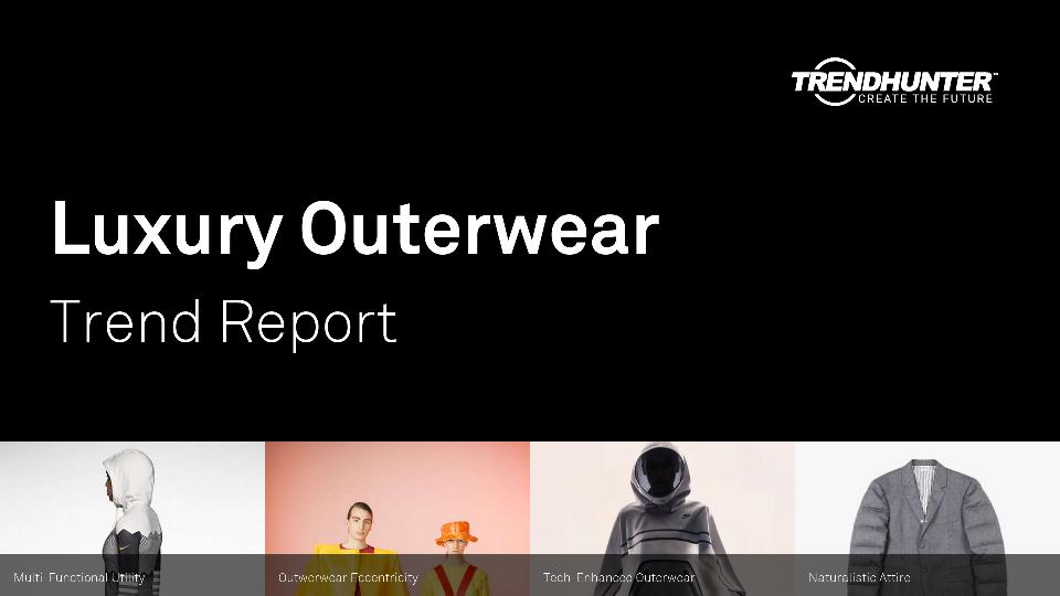 Luxury Outerwear Trend Report Research