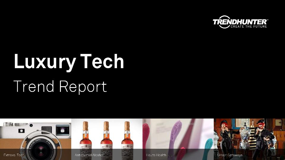 Luxury Tech Trend Report Research