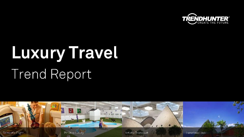 Luxury Travel Trend Report Research
