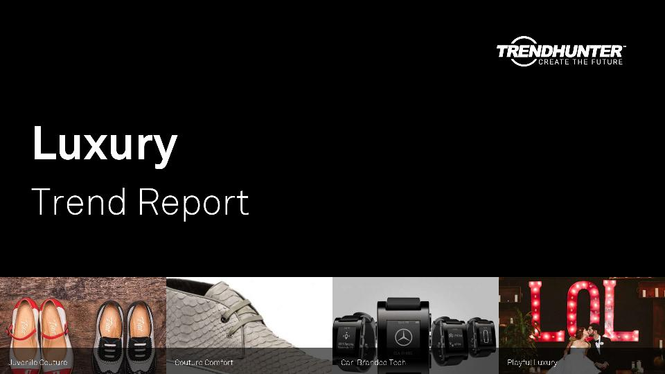 Luxury Trend Report Research