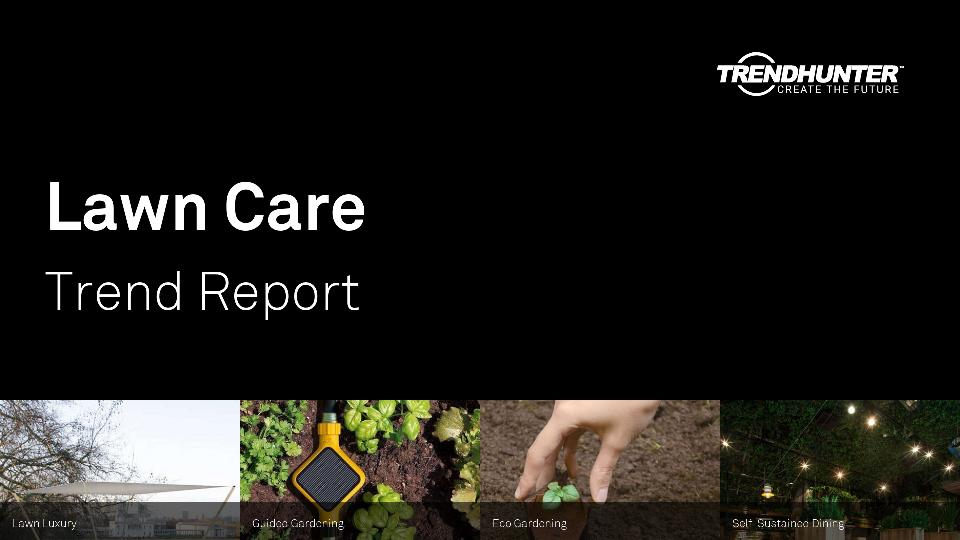 Lawn Care Trend Report Research