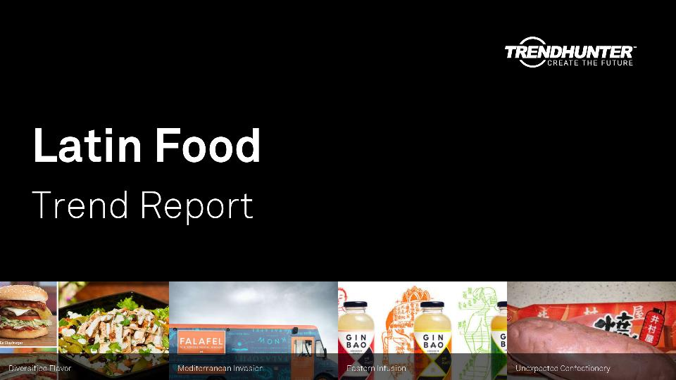 Latin Food Trend Report Research