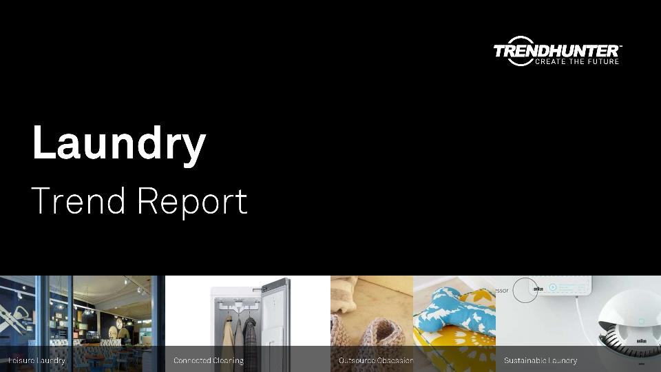Laundry Trend Report Research
