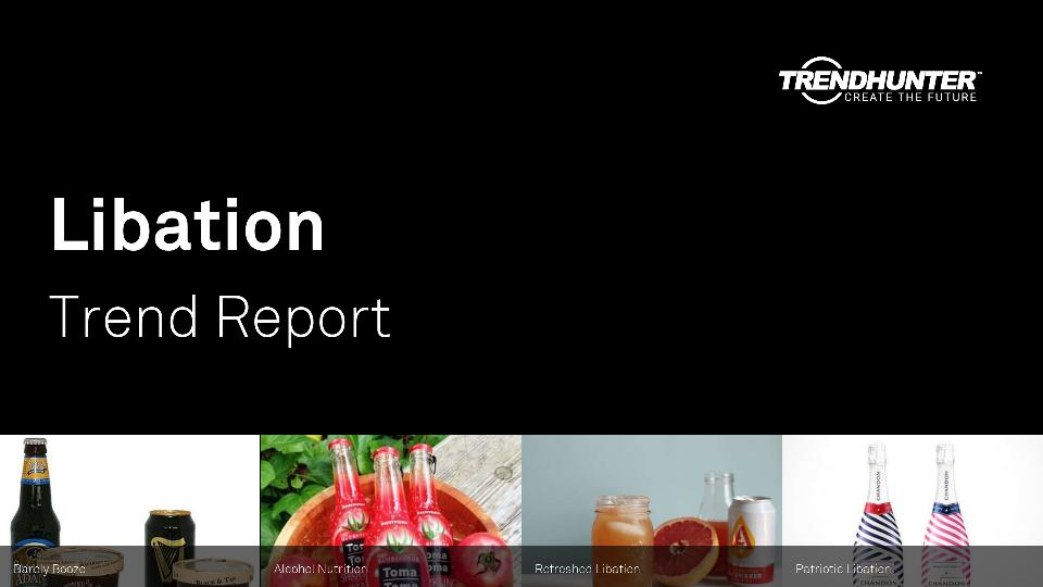 Libation Trend Report Research