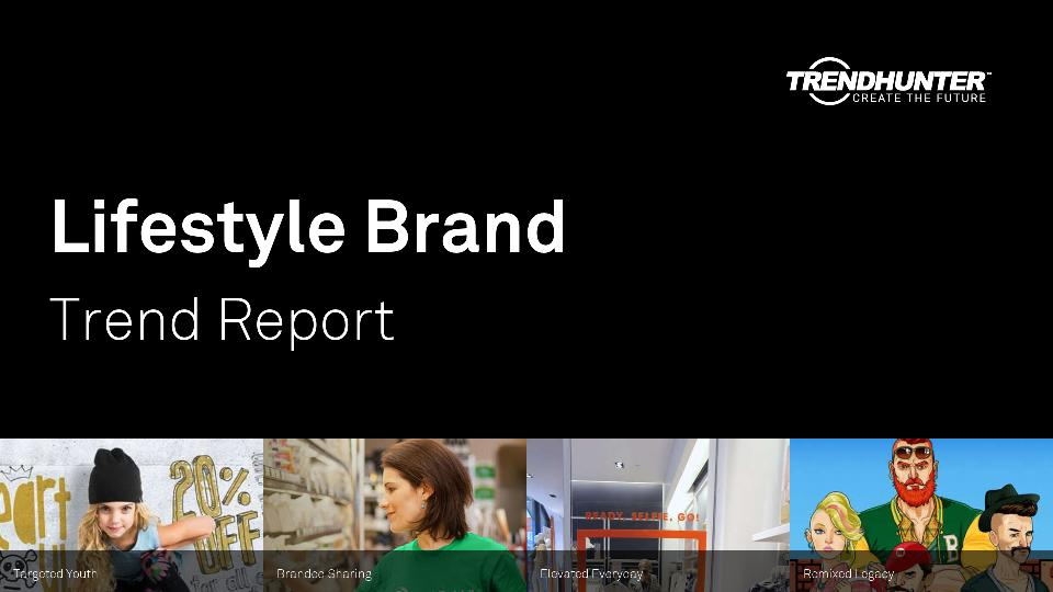 Lifestyle Brand Trend Report Research