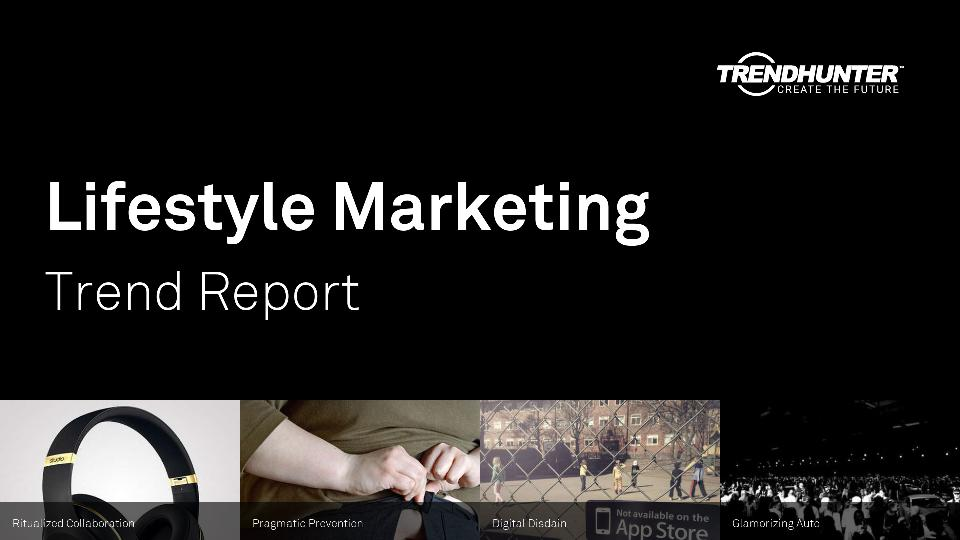 Lifestyle Marketing Trend Report Research