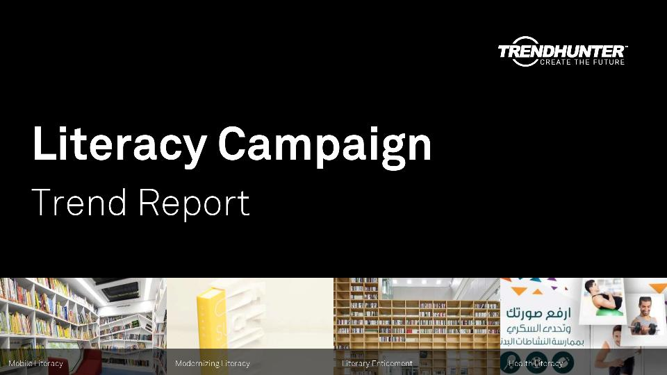 Literacy Campaign Trend Report Research