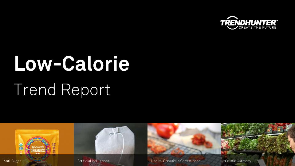 Low-Calorie Trend Report Research