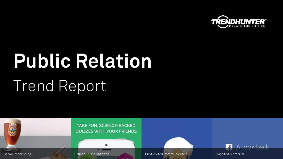 Public Relation Trend Report Research