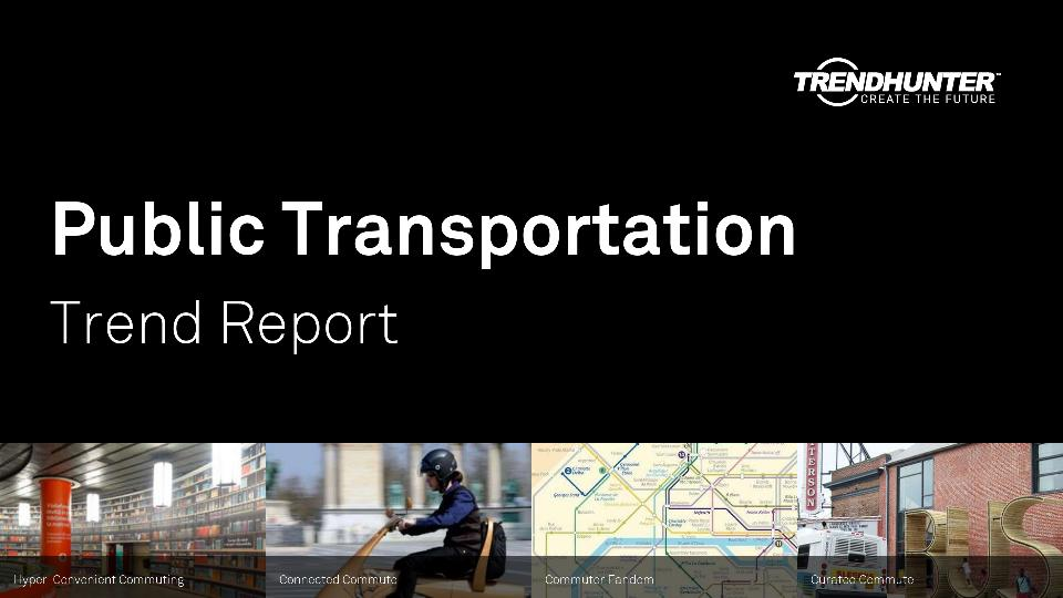 Public Transportation Trend Report Research