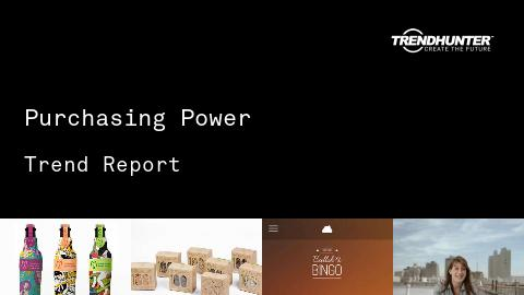 Purchasing Power Trend Report and Purchasing Power Market Research