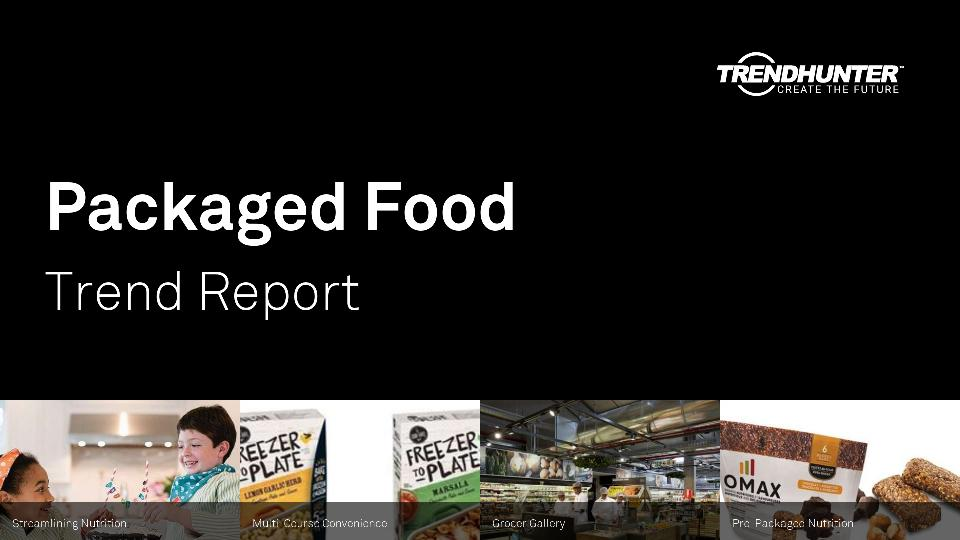 Packaged Food Trend Report Research