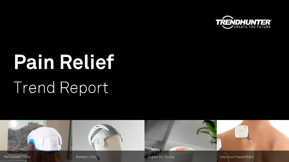 Pain Relief Trend Report Research
