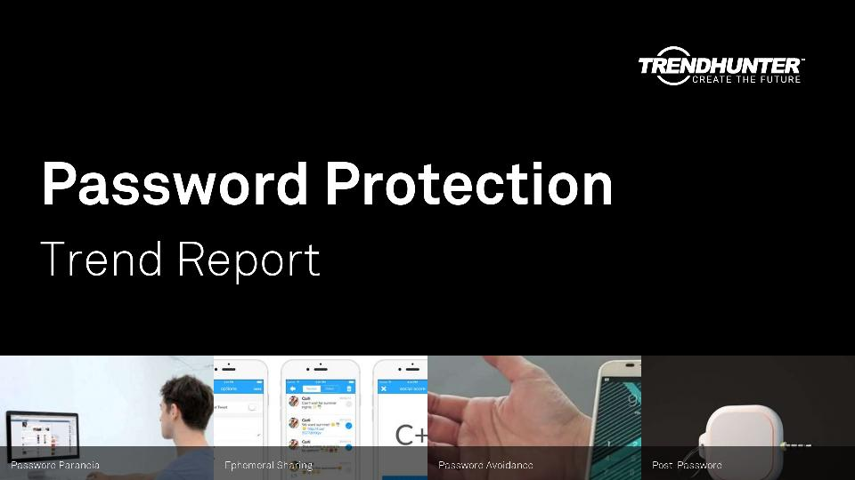 Password Protection Trend Report Research