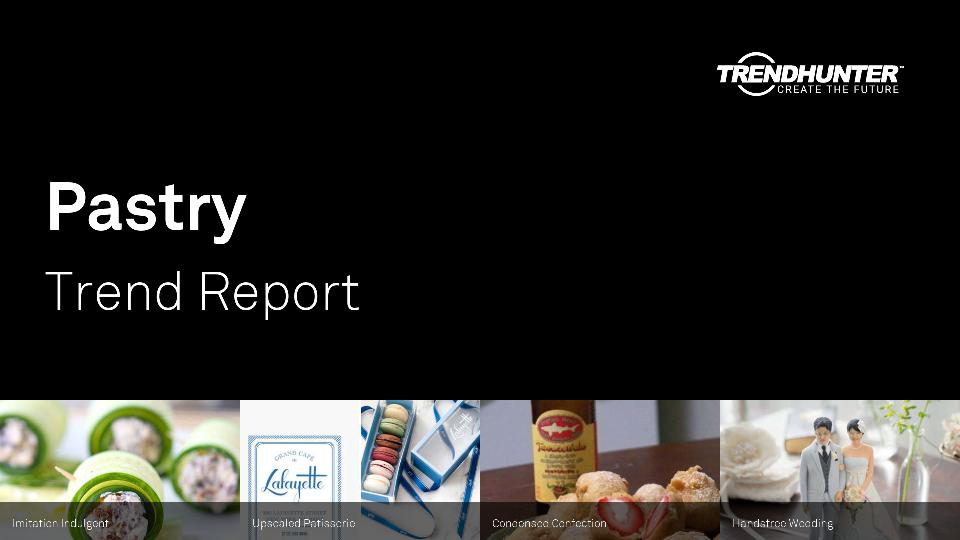 Pastry Trend Report Research