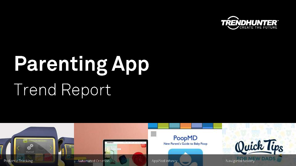 Parenting App Trend Report Research