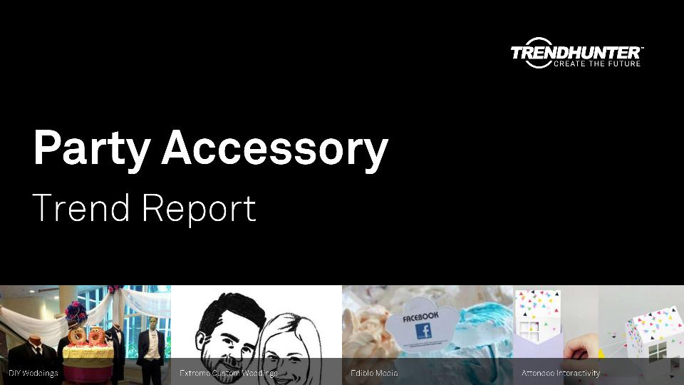 Party Accessory Trend Report Research