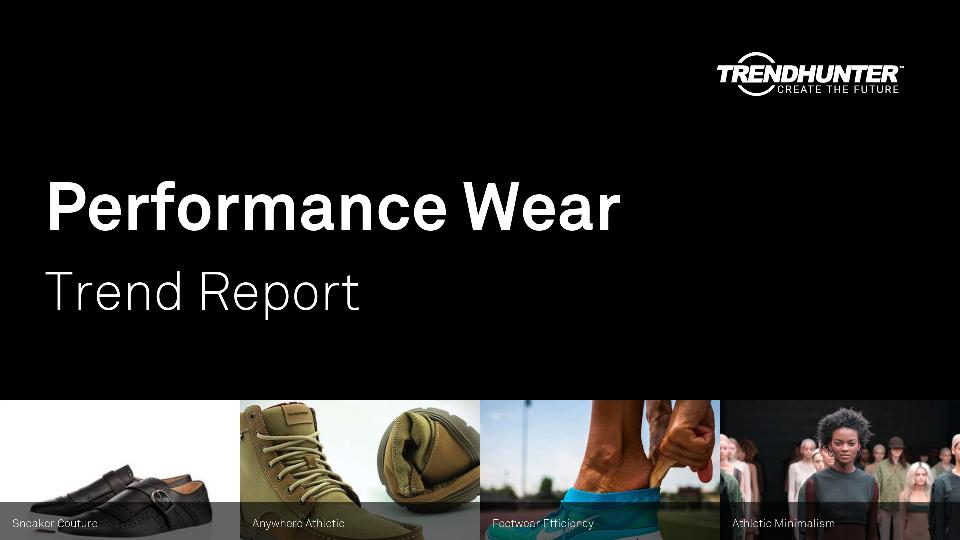 Performance Wear Trend Report Research