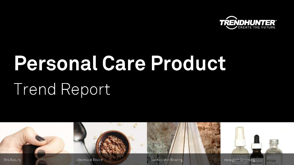 Personal Care Product Trend Report Research