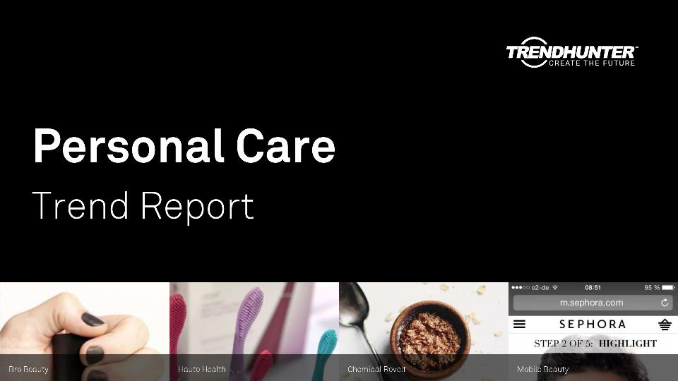 Personal Care Trend Report Research