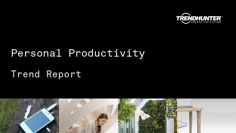 Personal Productivity Trend Report and Personal Productivity Market Research