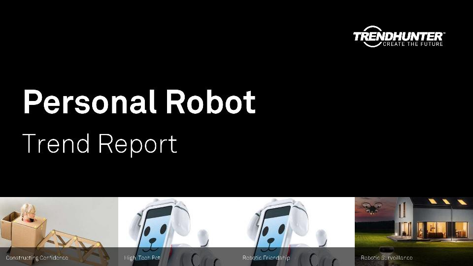 Personal Robot Trend Report Research