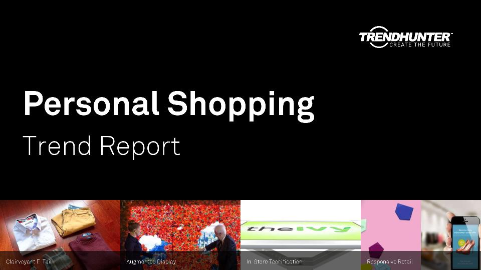 Personal Shopping Trend Report Research