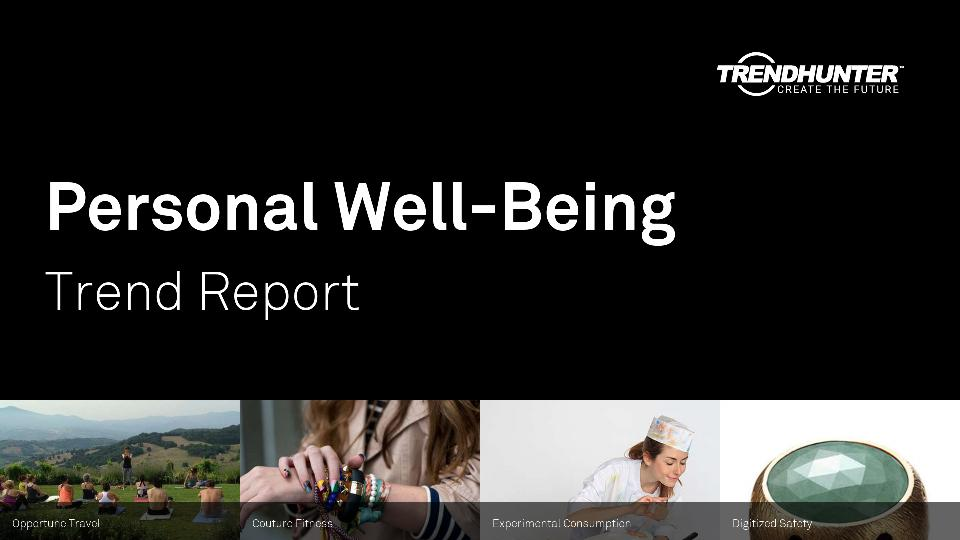 Personal Well-Being Trend Report Research