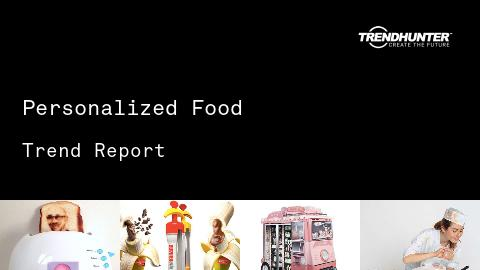 Personalized Food Trend Report and Personalized Food Market Research
