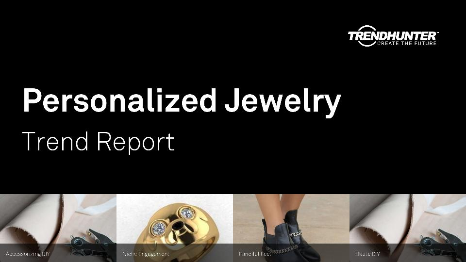Personalized Jewelry Trend Report Research