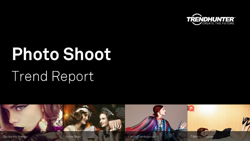 Photo Shoot Trend Report Research