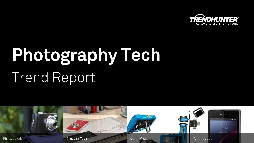 Photography Tech Trend Report Research