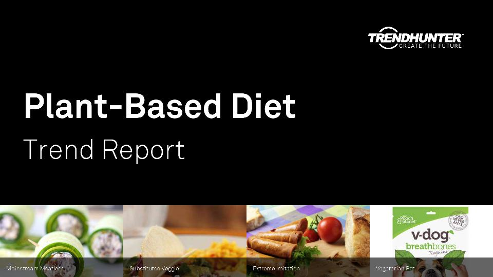 Plant-Based Diet Trend Report Research