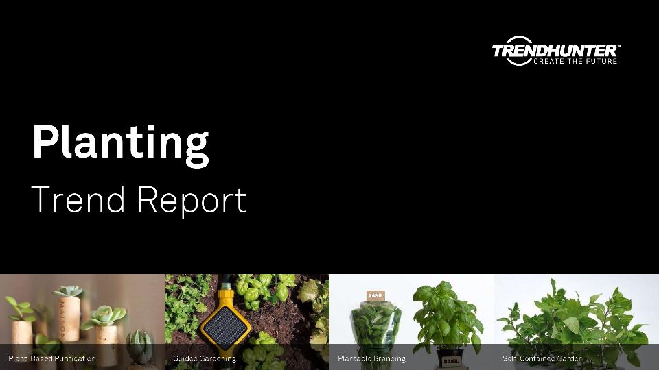 Planting Trend Report Research