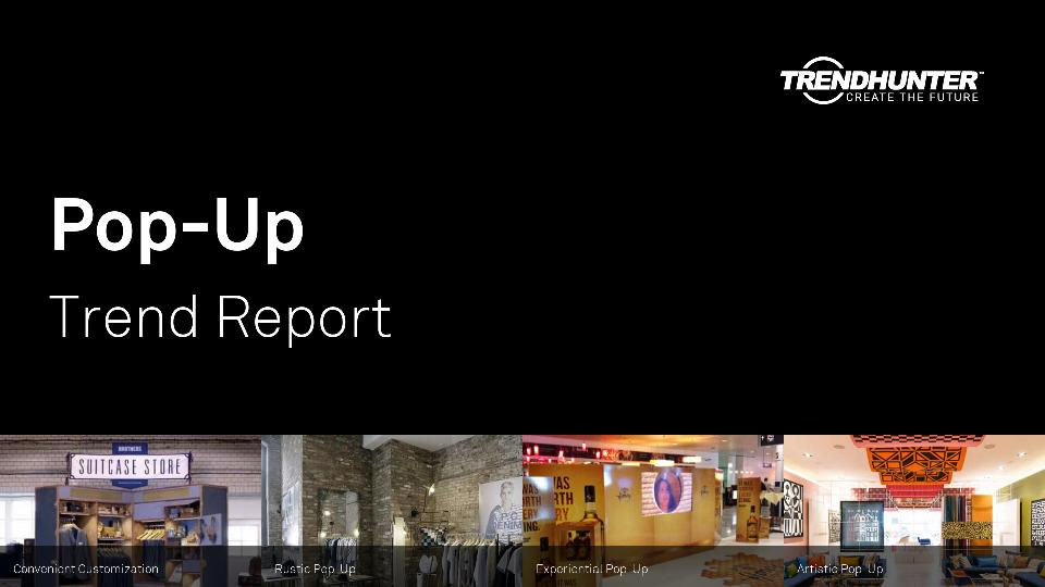 Pop-Up Trend Report Research
