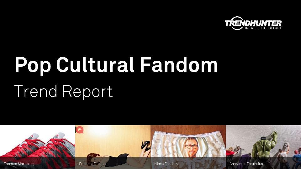 Pop Cultural Fandom Trend Report Research