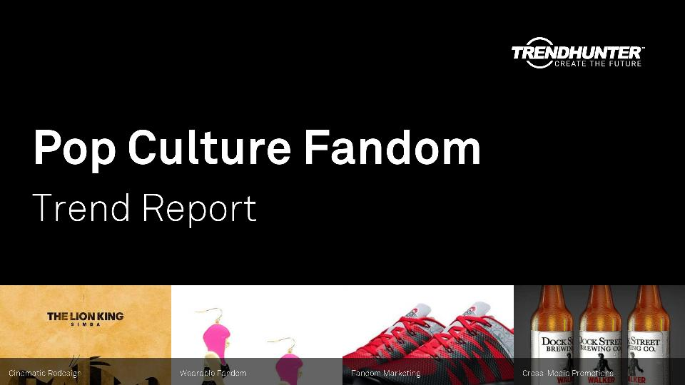 Pop Culture Fandom Trend Report Research