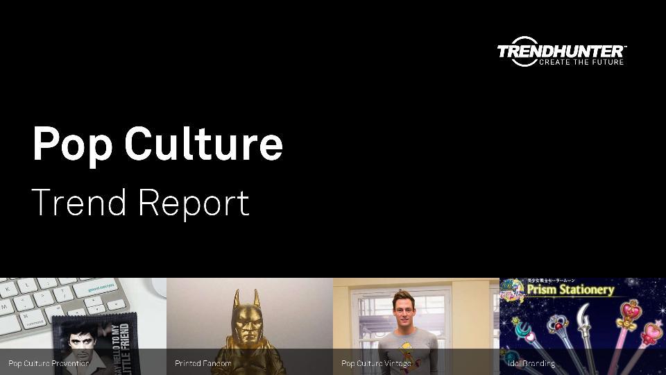 Pop Culture Trend Report Research