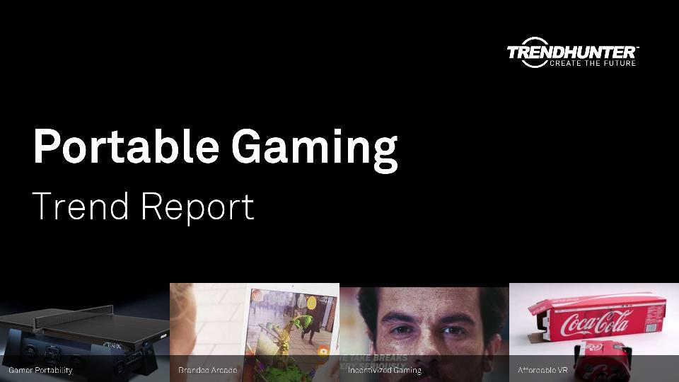Portable Gaming Trend Report Research