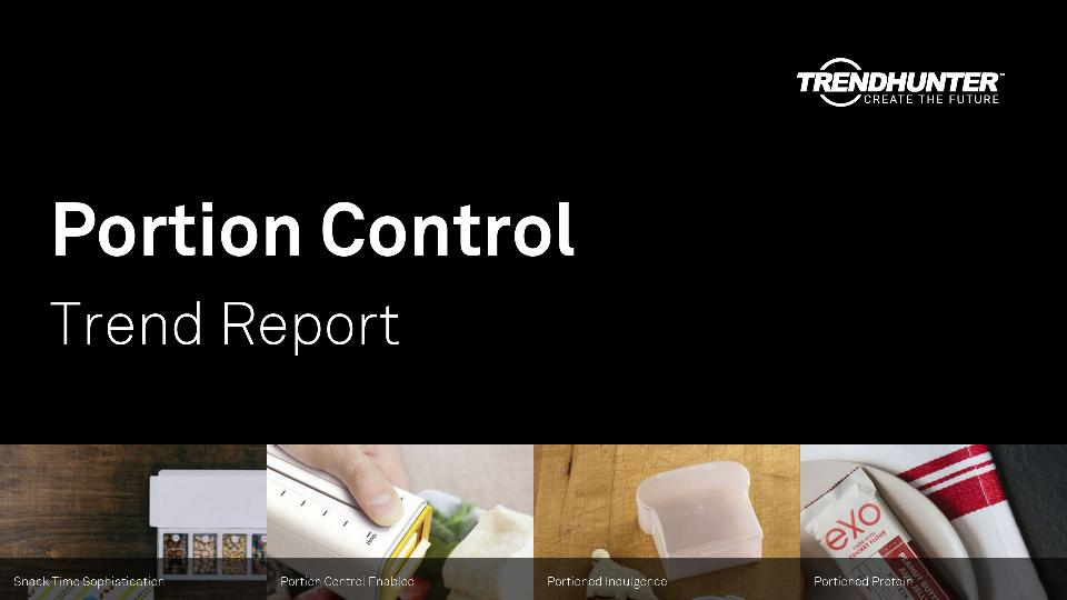Portion Control Trend Report Research