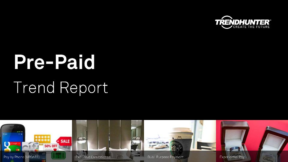 Pre-Paid Trend Report Research