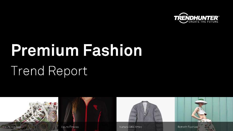 Premium Fashion Trend Report Research