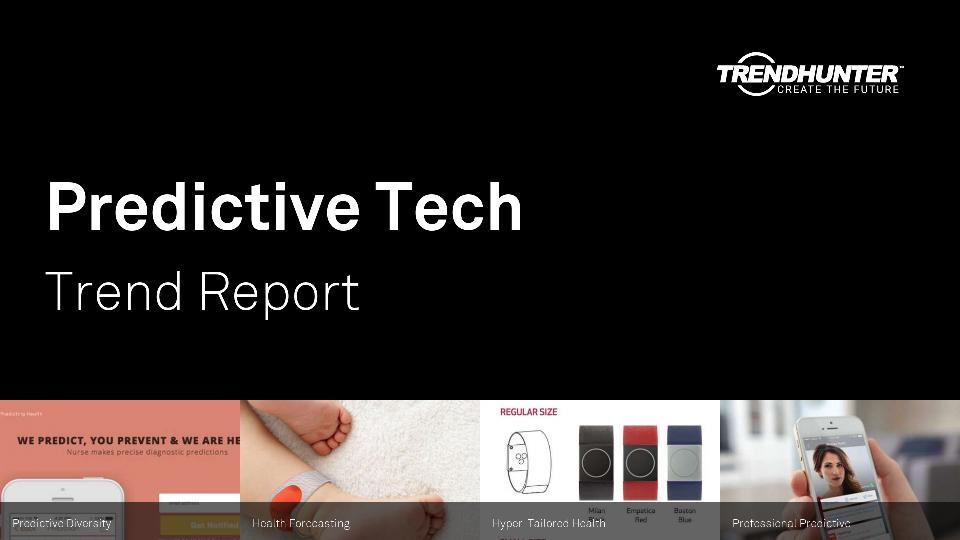 Predictive Tech Trend Report Research