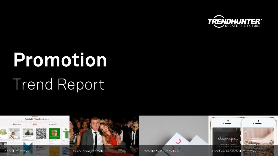 Promotion Trend Report Research
