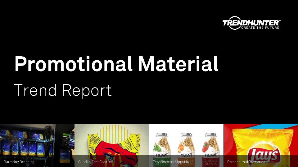 Promotional Material Trend Report Research