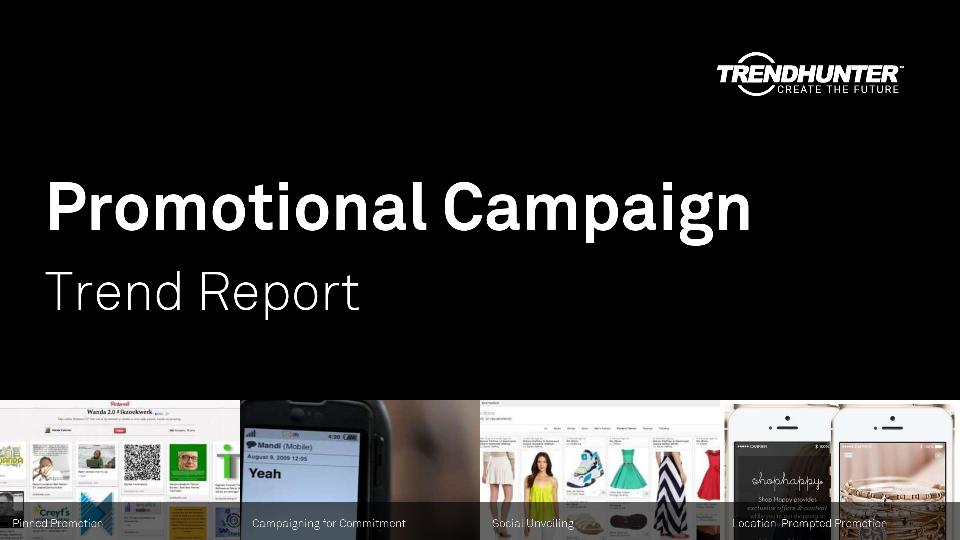 Promotional Campaign Trend Report Research