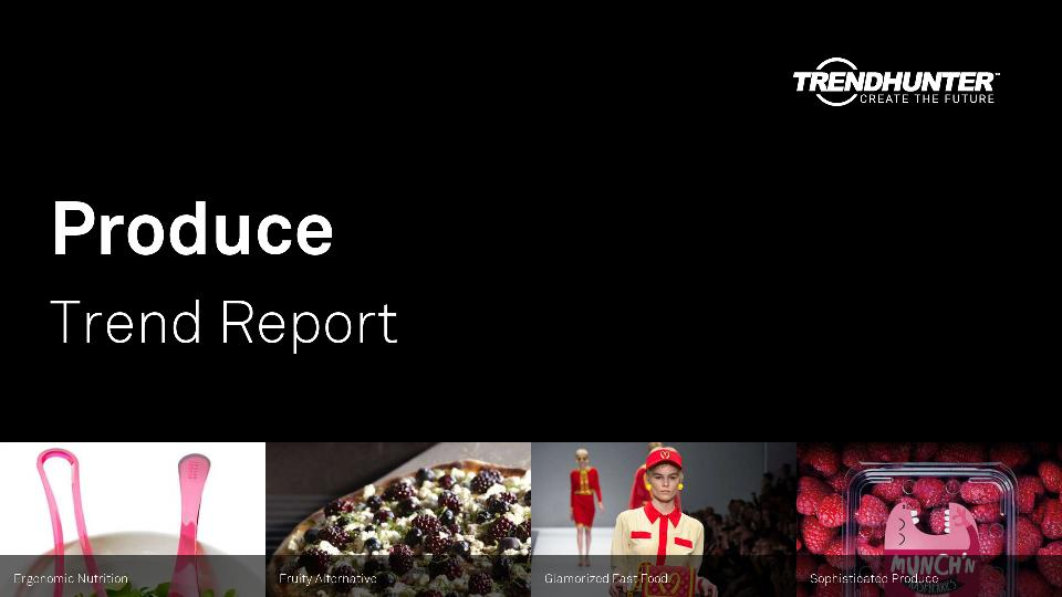 Produce Trend Report Research
